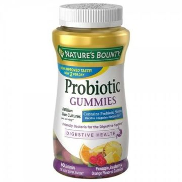 Nature's bounty probiotic gummies in Nigeria