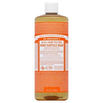 Dr. Bronner's Tea Tree Pure-Castile Liquid Soap in Nigeria