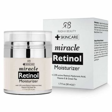 Radha Beauty miracle retinol Moisturizer | Buy online in Nigeria