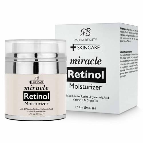 Radha Beauty miracle retinol Moisturizer   Buy online in Nigeria