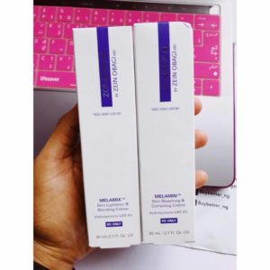 ZO Skin Health Melamin and Melamix in Nigeria