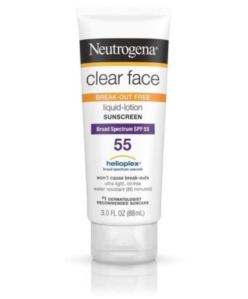 Neutrogena Clear face SPF 55 | Buy online in Nigeria