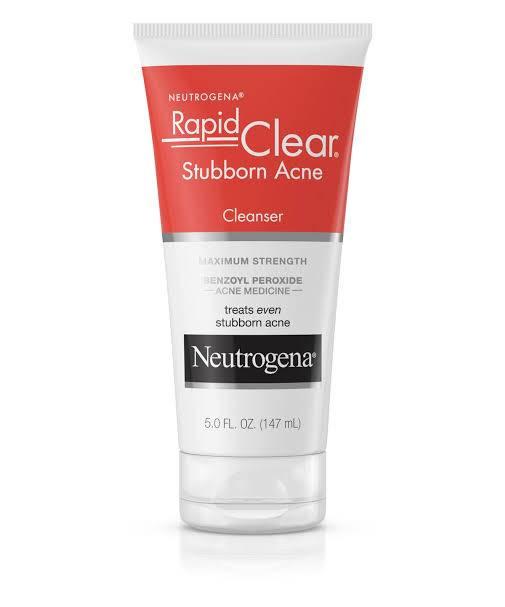 Neutrogena Rapid Clear Stubborn Acne Cleanser | Buy in Nigeria