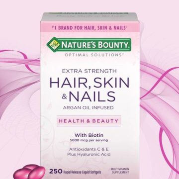Nature's Bounty Hair, Skin and Nails, 250 Softgels | Buy in Nigeria