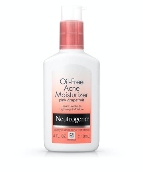 Neutrogena Oil-Free Pink Grapefruit Acne Face Moisturizer with Salicylic Acid | Buy in Nigeria
