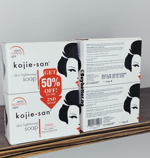 Kojie San Zero Pigment Light Kojic Acid Soap | Buy in Nigeria