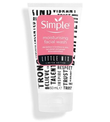 Simple x Little Mix Moisturising Face Wash 150ml | Buy in Nigeria