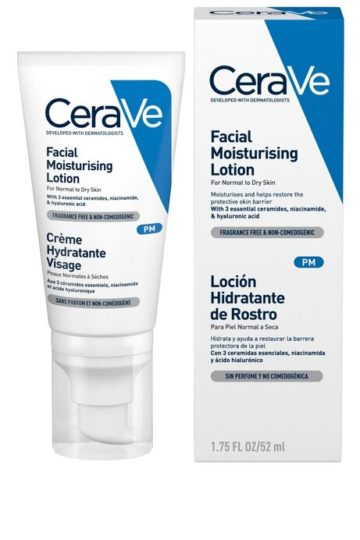 CERAVE PM FACIAL MOIST LOTION GB/SP/FR/PT | CERAVE IN LAGOS,NIGERIA