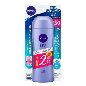 Nivea UV [Large Capacity] Super Water Gel, 5.6 oz (160 g) | Buy Japanese Skincare Products in Nigeria