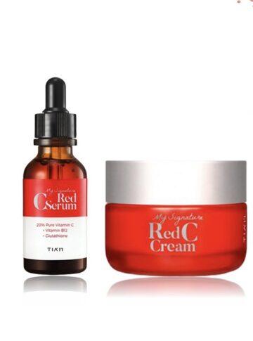 Tiam My Signature C Red Serum + Red C Cream | Buy in Nigeria